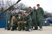 Students from the 2012 Cotswold Airport Aviation Scholarship