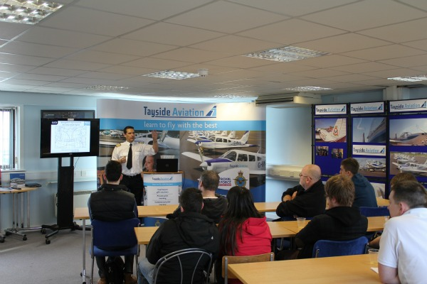 Tayside Aviation and CATS launch new ATPL Study Centre