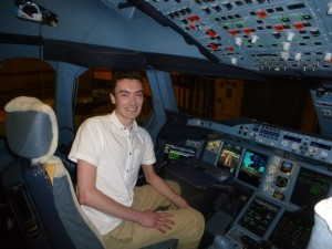 Tom in A380 landed at LHR