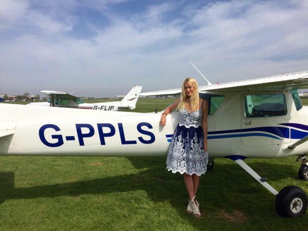 Cherry Charters was the 2016 winner of the Bristol Groundschool ATPL course scholarship, offered through the Air League