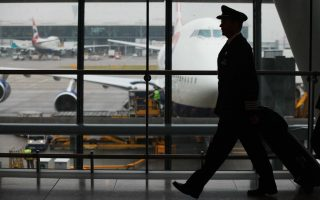 British Airways captain at T5, London Heathrow, UK, 23 August 2011 (Picture by Nick Morrish/British Airways)