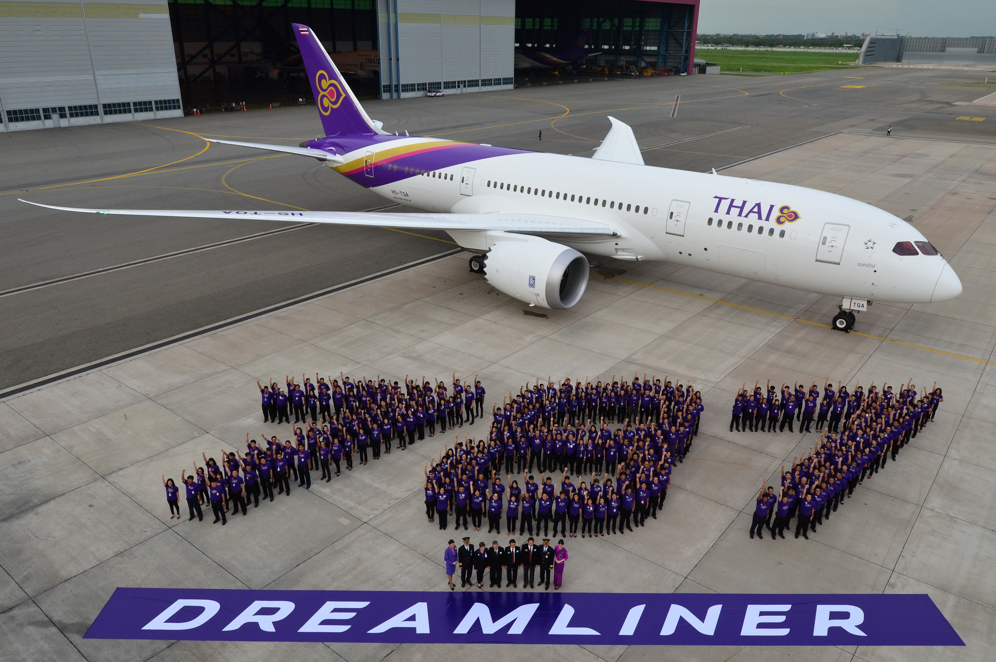 TG101_THAI Welcomes First 787 Dreamliner-4 (2)