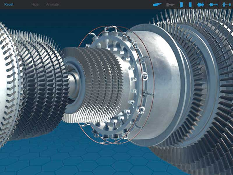 PadPilot gas turbine