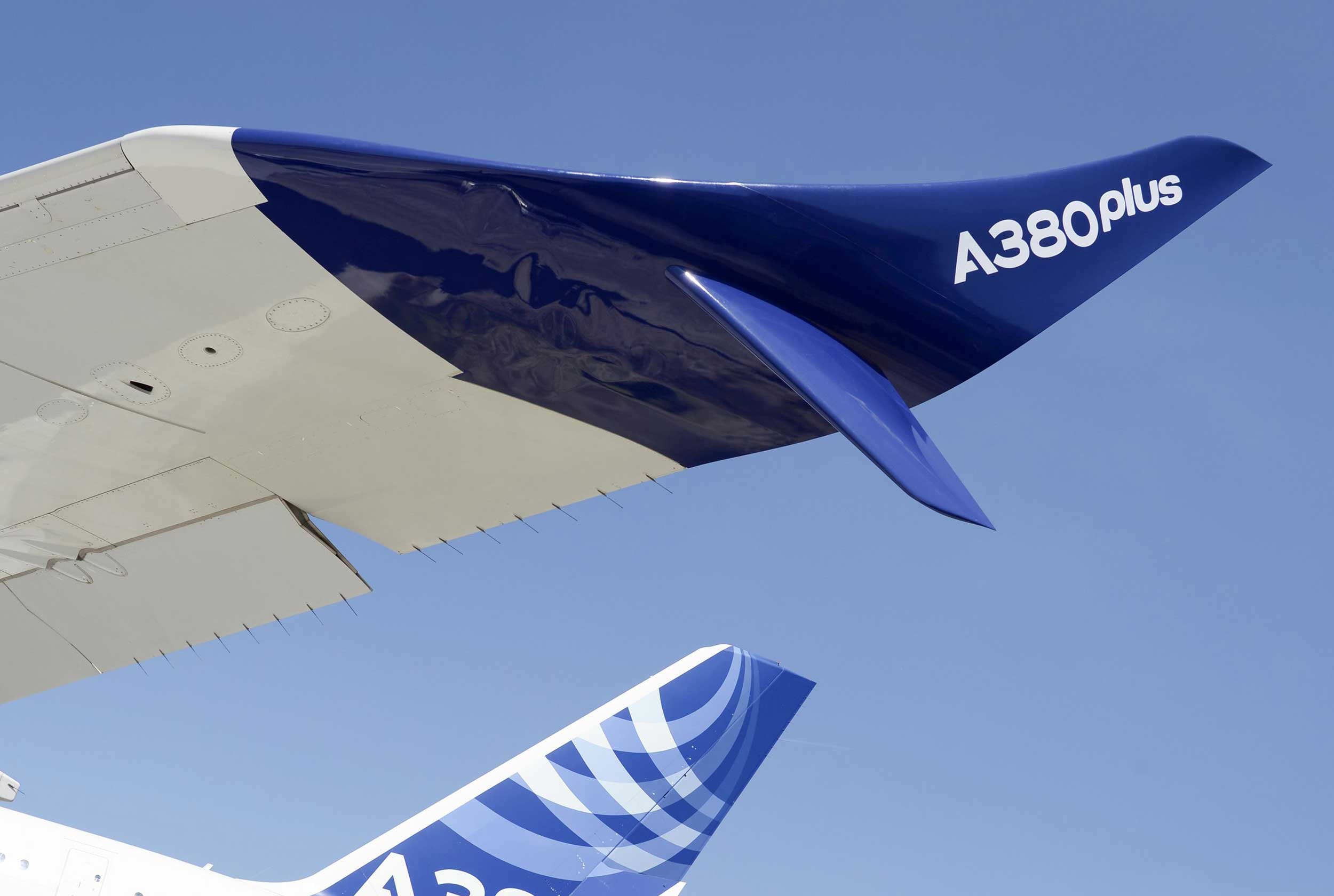 Airbus A380 plus winglet