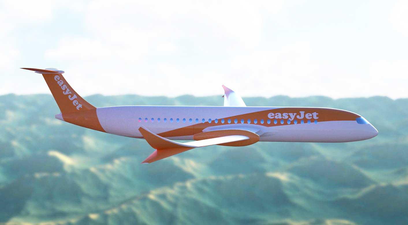 Wright easyJet electric plane