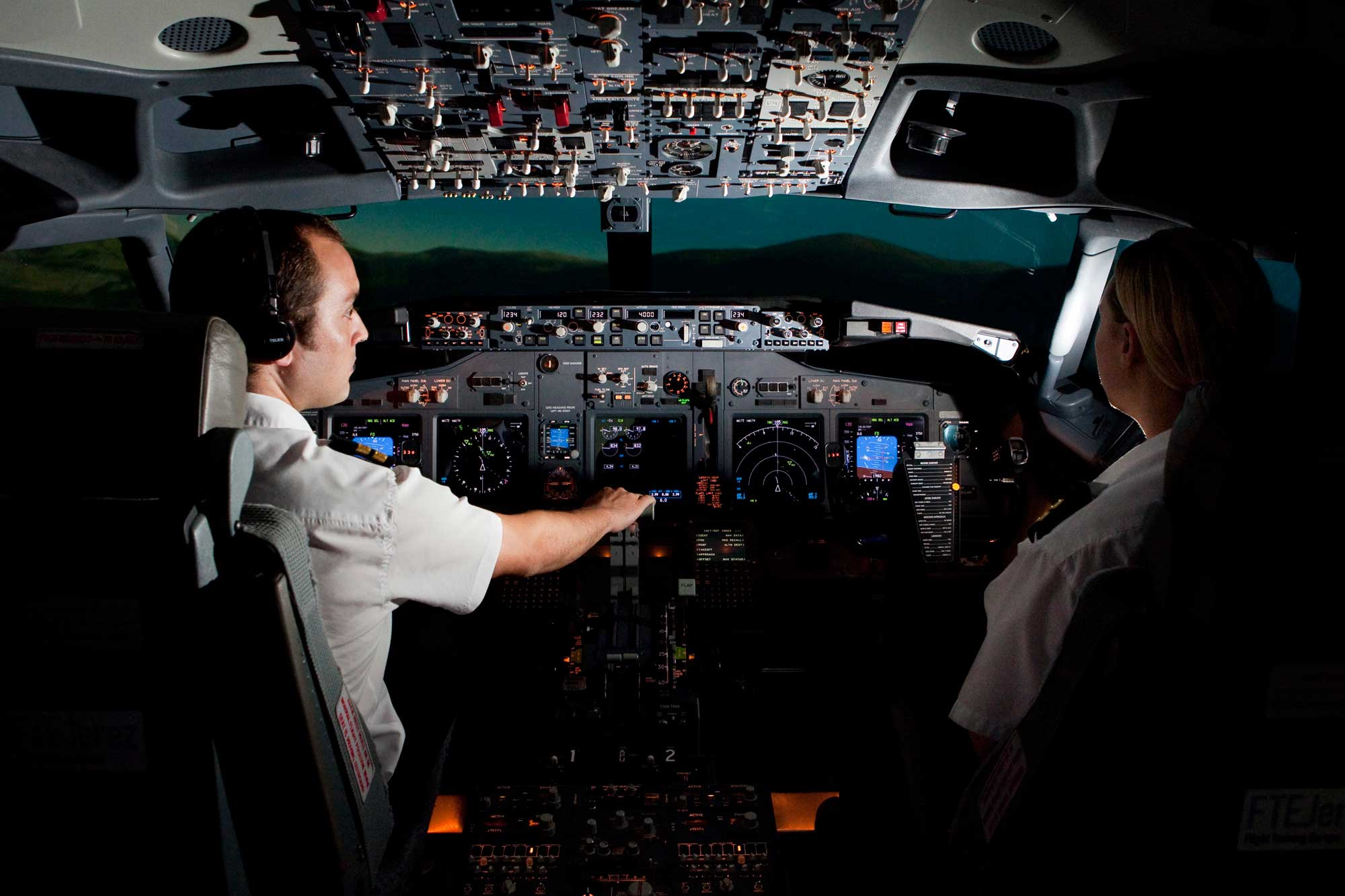 FTEJerez pilots training for Iberia