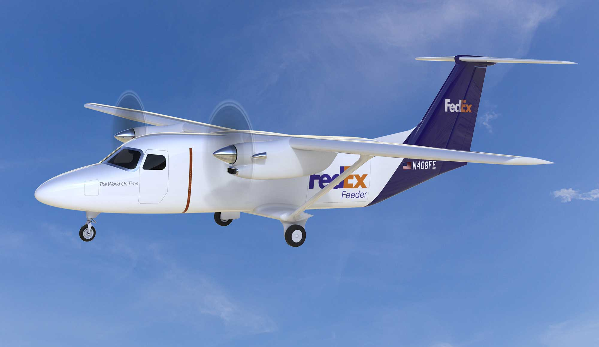 Cessna SkyCourier for FedEx