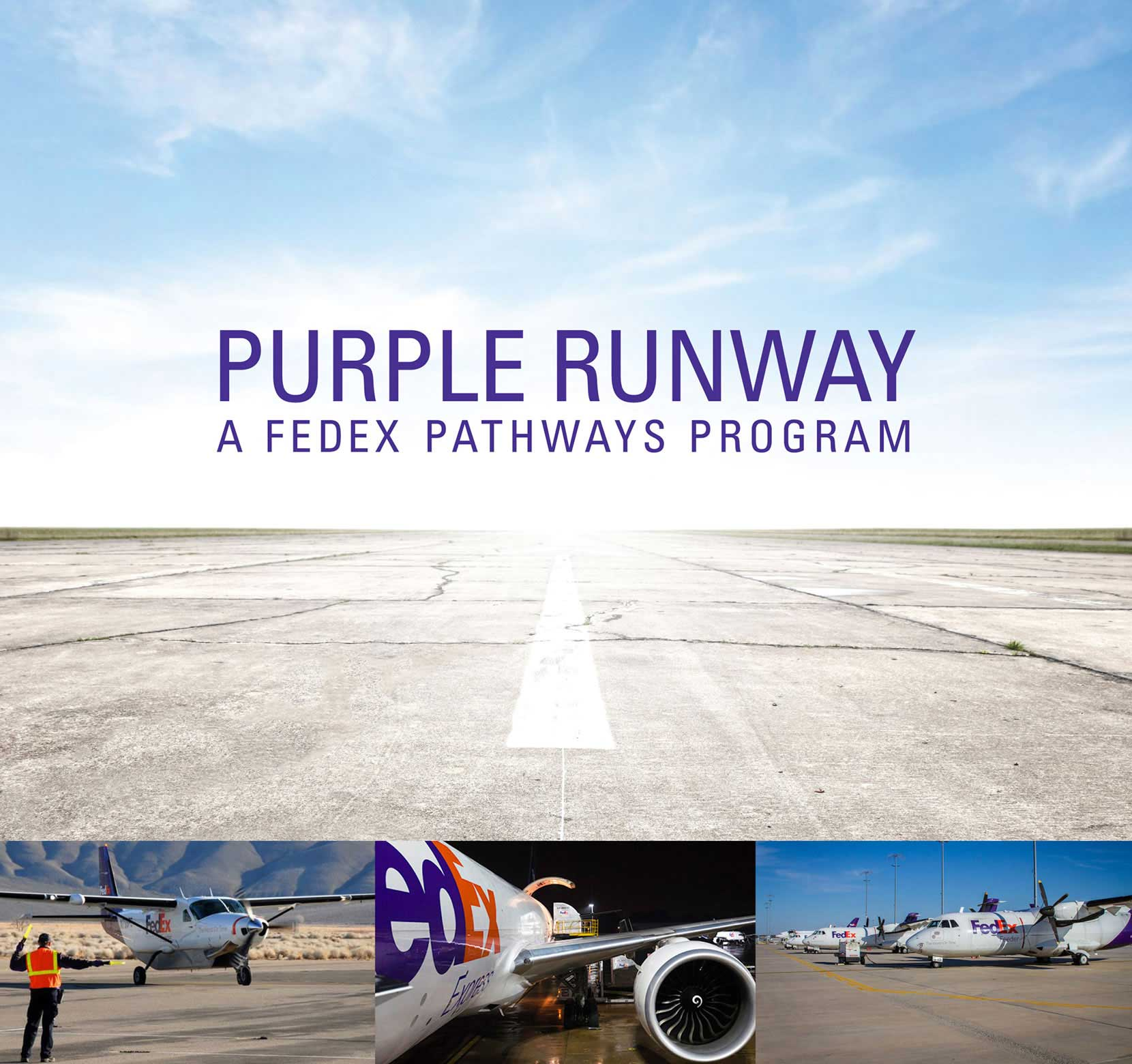 FedEx Purple Runway pilot training