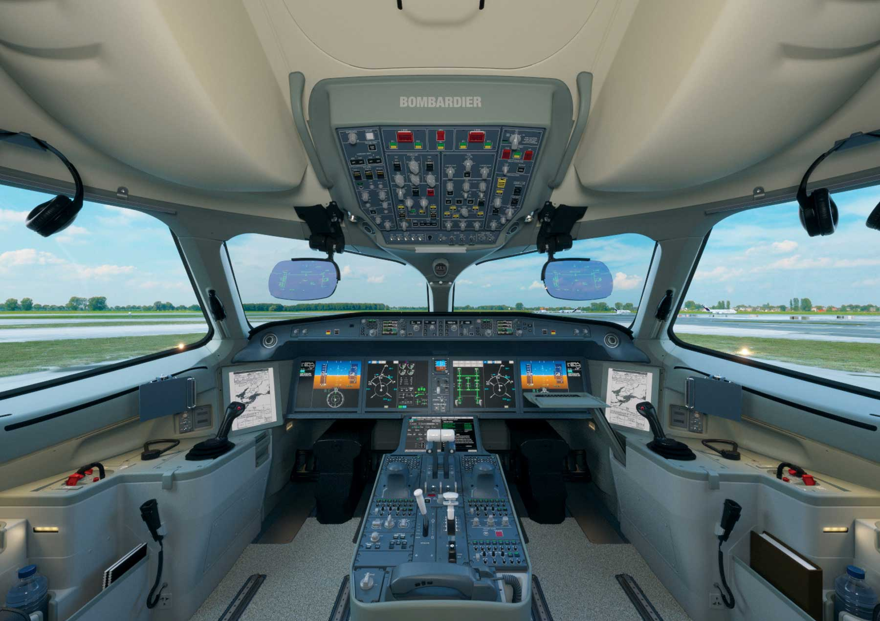 C Series flightdeck