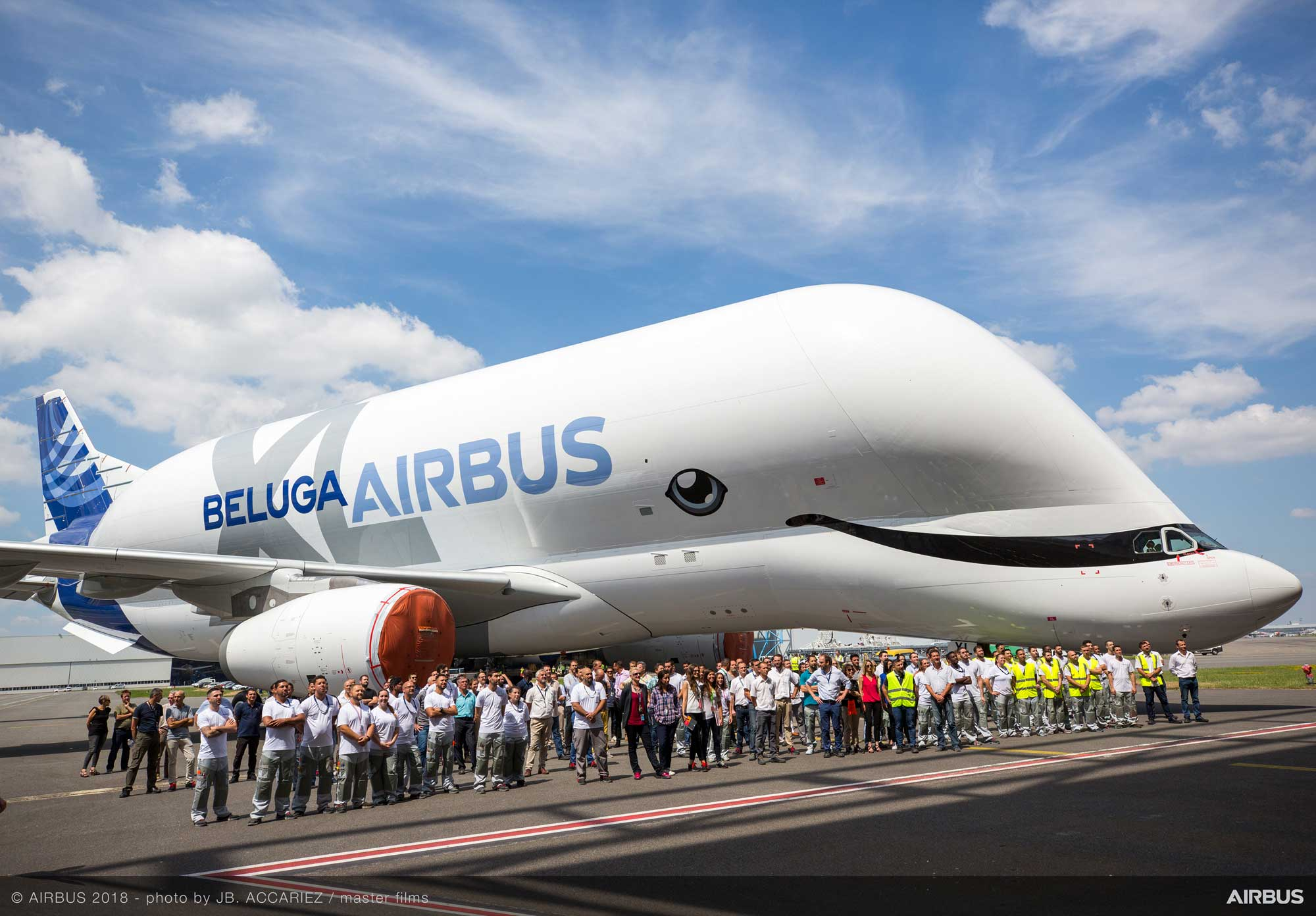 Airbus BelugaXL roll-out