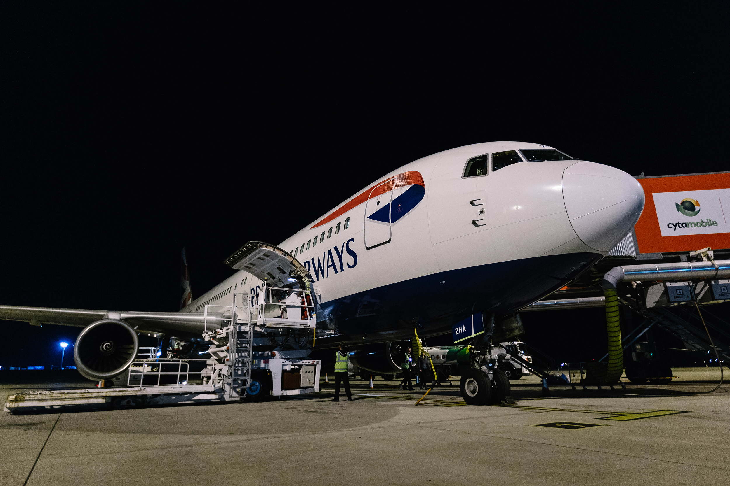 British Airways B767 retires