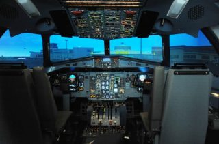 Ireland's first ATR 72/42 aircraft full flight simulator, managed by Simtech Aviation