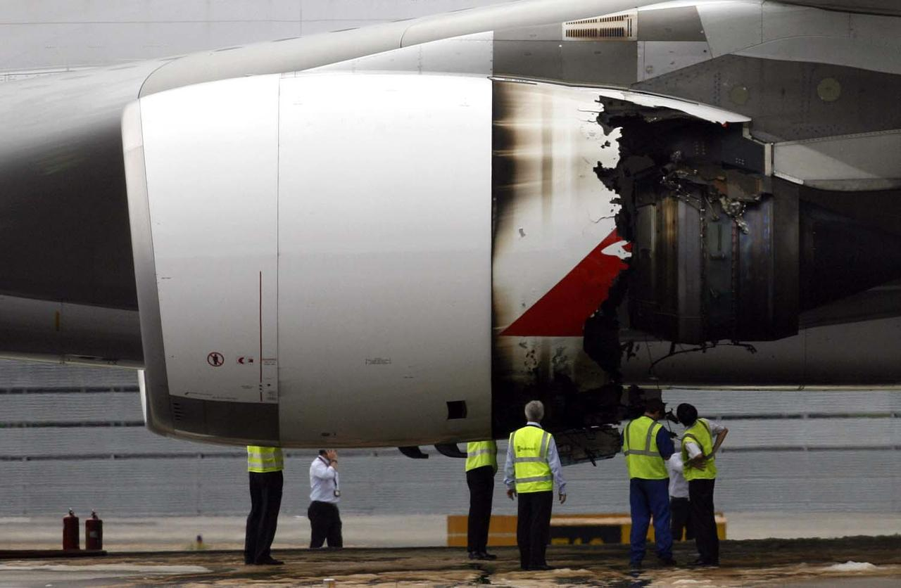 qantas completes repairs on qf32 aircraft 18 months on