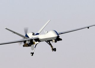 MQ-9 Reaper, a medium altitude, long endurance UAV currently used by the US Air Force