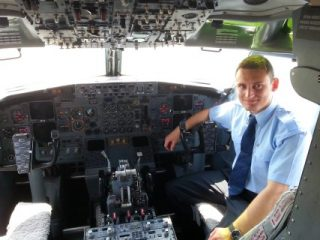 Current Cadet Pilot Nicky Yuill