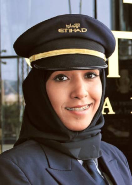 profile  captain salma al beloushi  first emirati woman