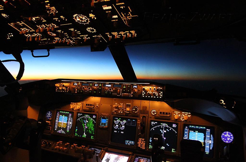 Dubai cockpit