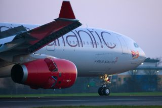 Virgin Atlantic A330 Aircraft