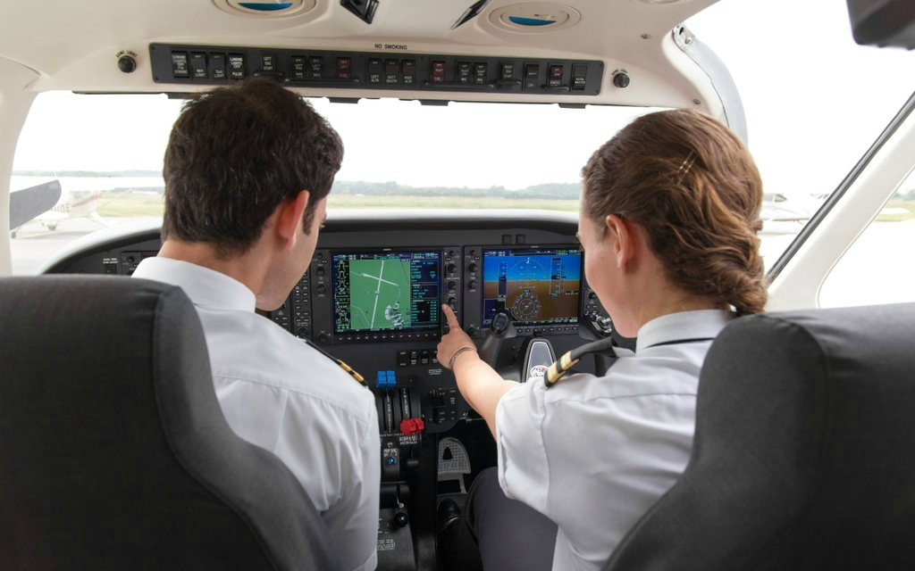 training of airline pilots For the majority of your flight training you will fly together with an instructor who will then be the pilot in command in such case the instructor resp our company will be responsible for any damages which might occur.