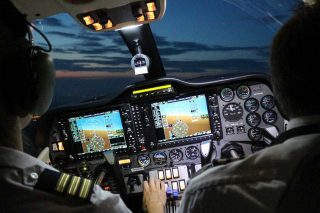Malta-Night-flight-training-in-Alsim