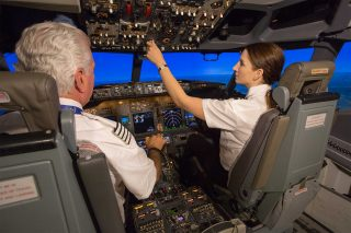 Boeing pilot training