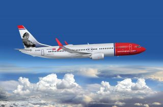 Norwegian Airlines Boeing 737