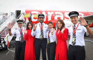AirAsia flight crew
