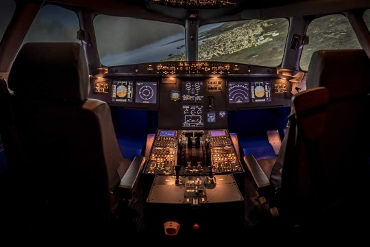 Entrol A320 flight simulator