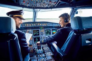 Small Planet Airlines pilot