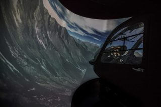 Entrol helicopter flight sim