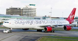 Virgin Atlantic Sleeping Beauty