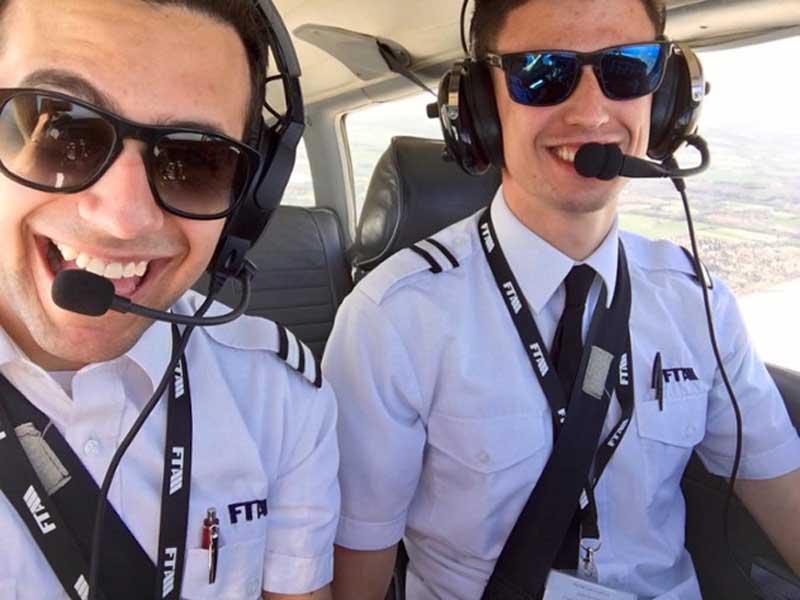 Alessando Naibo pilot