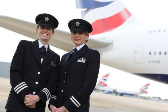 British Airways closes gender pay gap