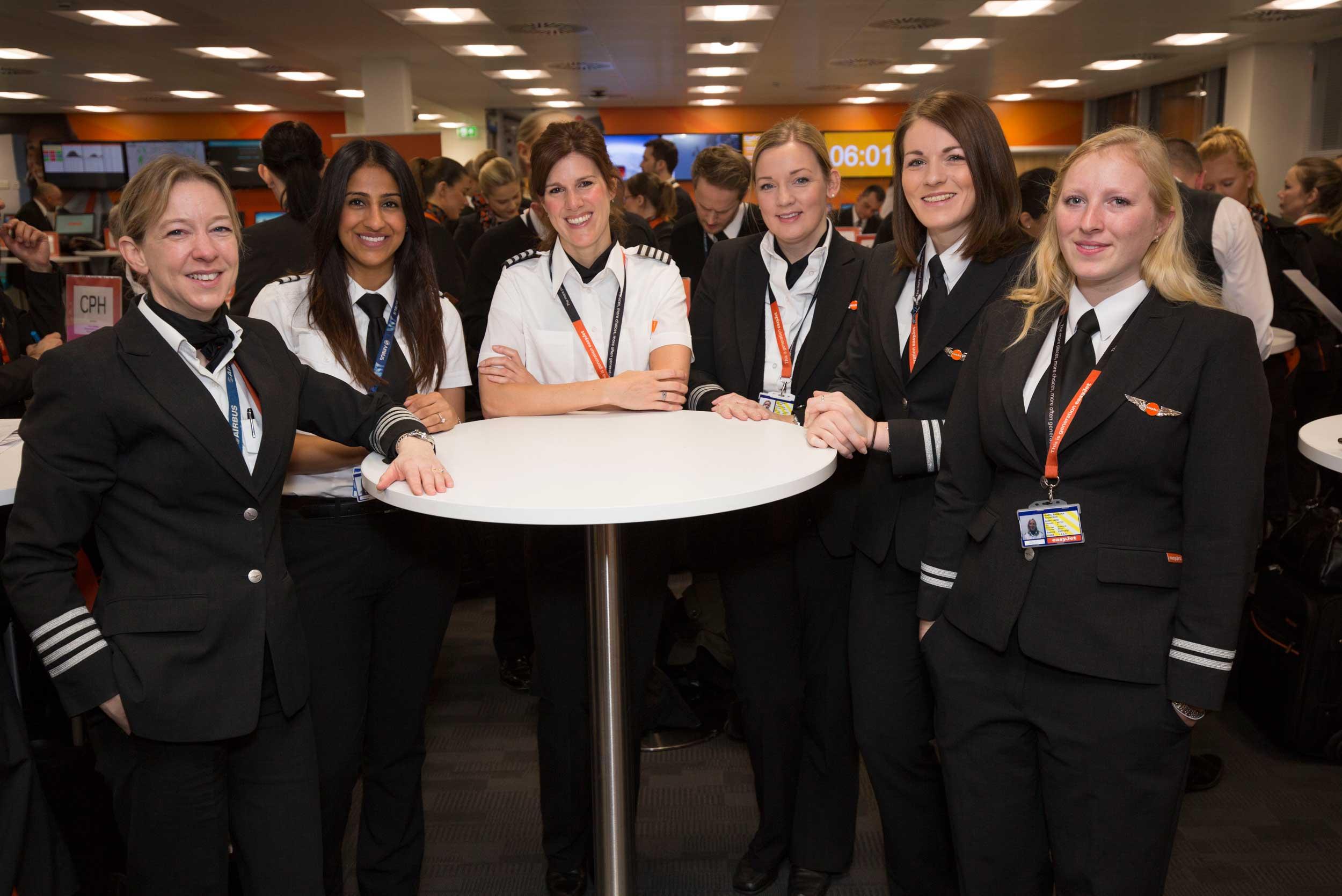 easyJet female crews