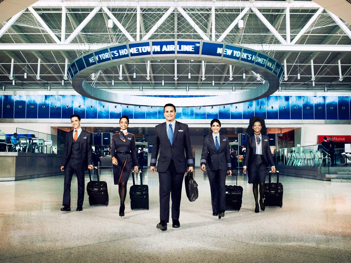 JetBlue flight crew