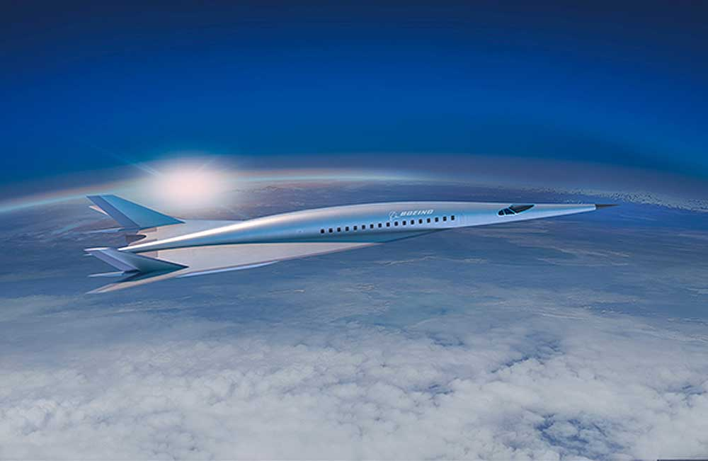Boeing hypersonic airliner concept