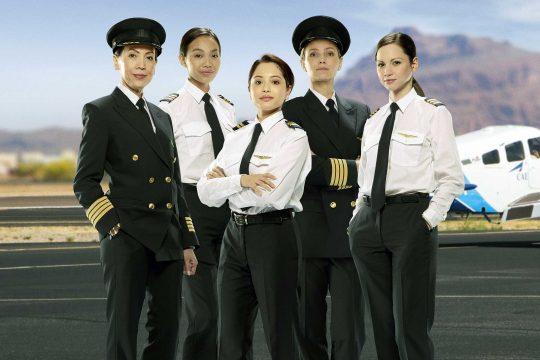 CAE women in flight pilot scholarships