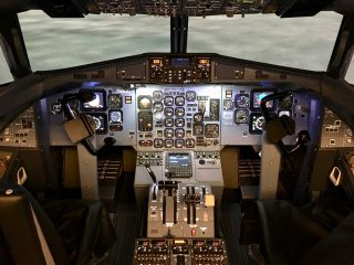 Axis ATR-72 simulator