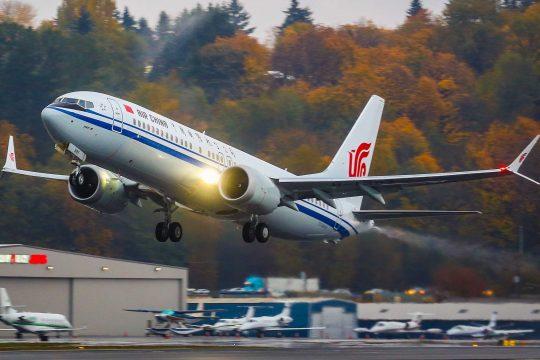 Boeing 737 China