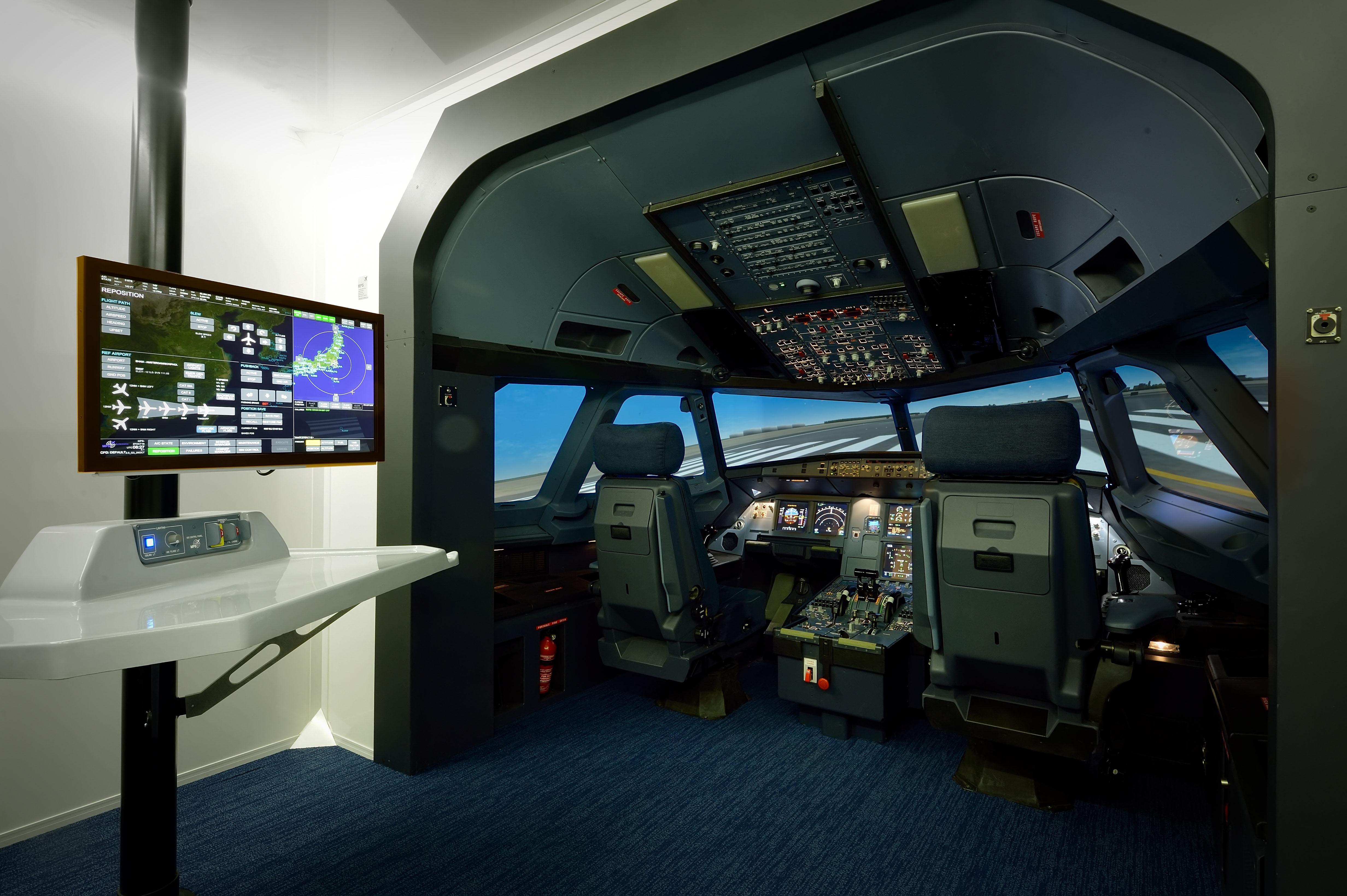 Multi Pilot Simulator Airbus A320 FTD1