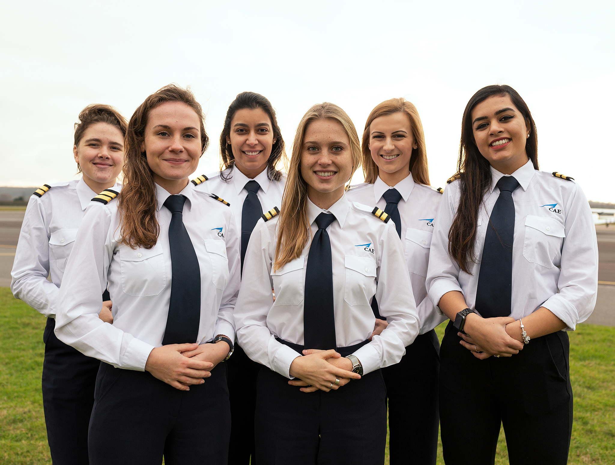 CAE women pilot scholarships