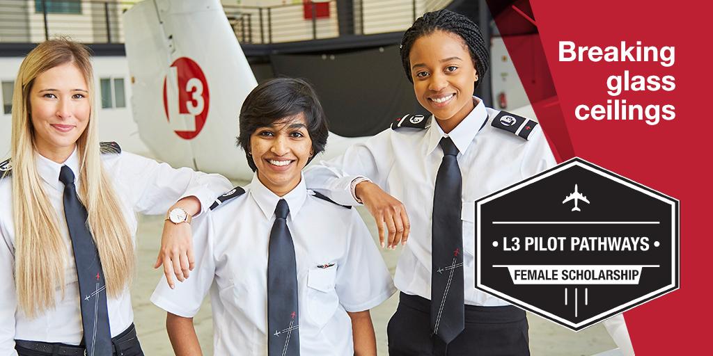 L3 sponsor female cadet pilots