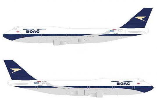 British Airways retro designs