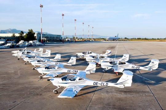 Egnatia Diamond aircraft