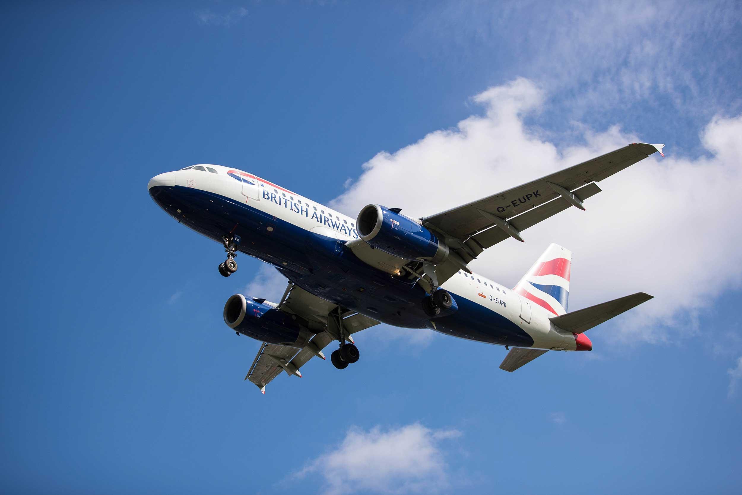 British Airways A319