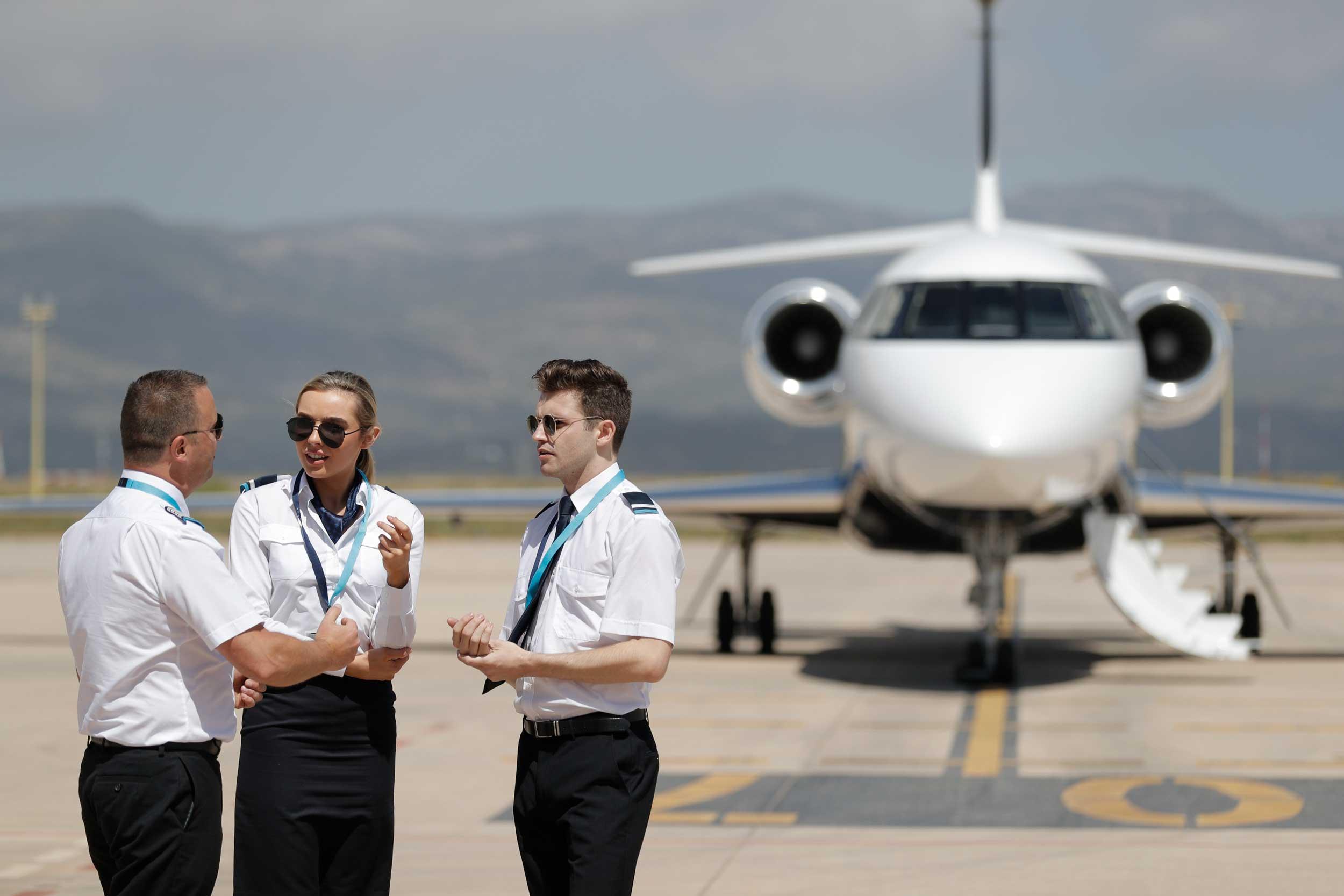 Skyborne flight instructors