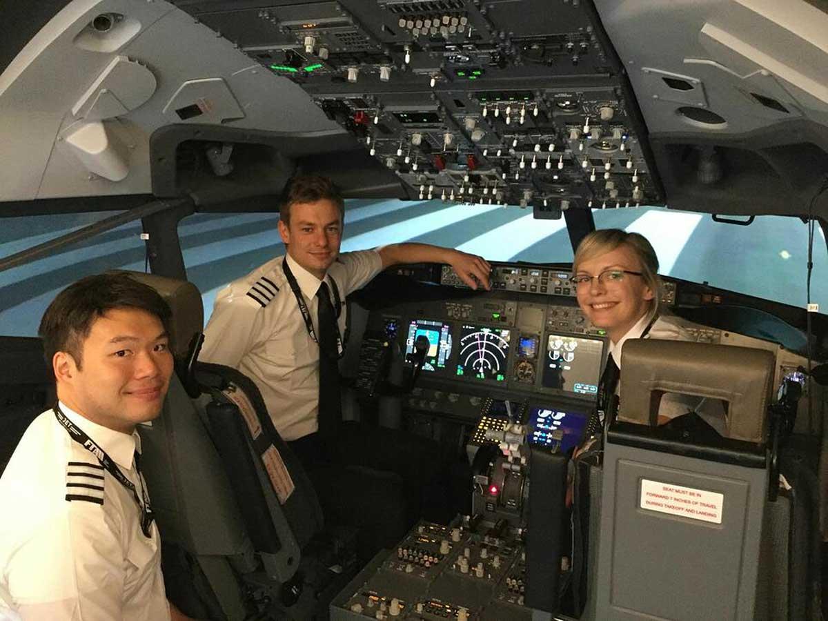 Jet Masterclass simulator