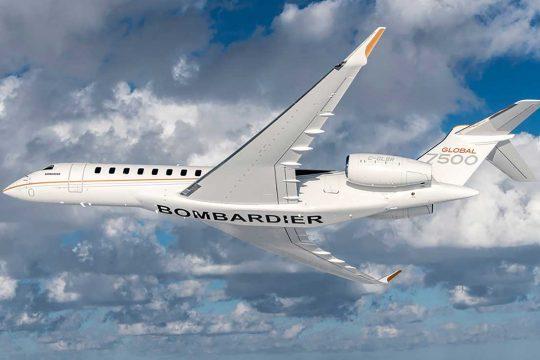 Bombrdier Global 7500