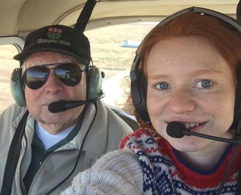 L3 pilot scholarship winner