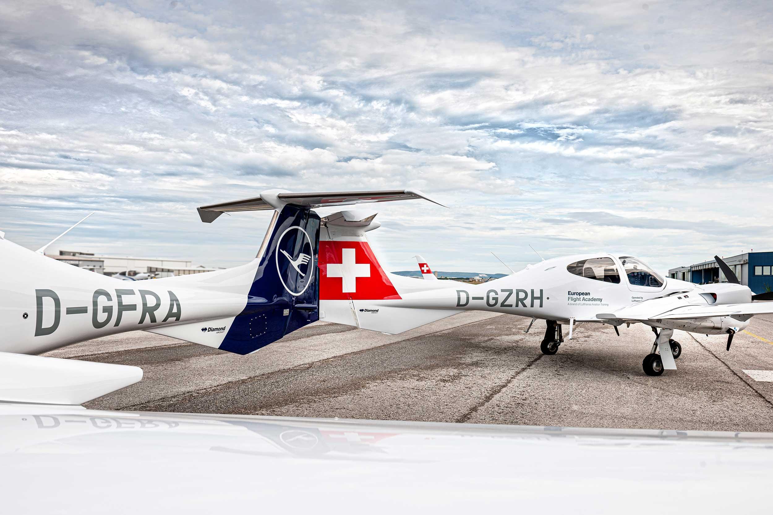 Luftansa Diamond aircraft